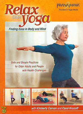 relax into yoga for seniors  safe and simple practices
