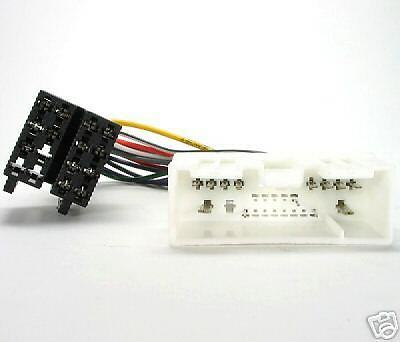 Cable Adaptador Cableado Harness Radio Iso Mazda 2 3 5 6 Demio 626 Mx5 -nr Bose