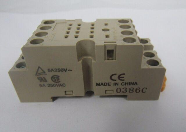 Omron Relay Base 5a 250v 0386c