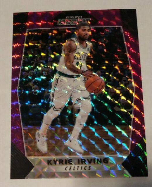 2017-18 Panini Prizm Mosaic Kyrie Irving Purple /99 Boston Celtics SP