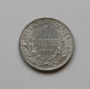 Doa-1-Rupee-1911-J-034-Wilhelm-Ii-034-J-N-722-Rarement