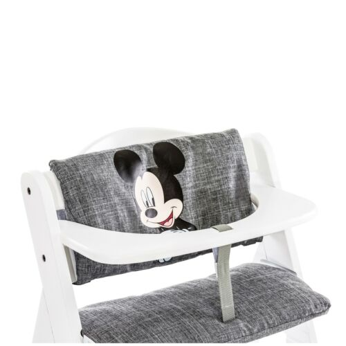 Hauck Hochstuhlauflage Deluxe Sitzpolster Mickey grey NEU