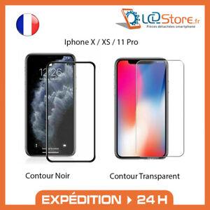Verre trempé intégral Iphone X XS 11PRO