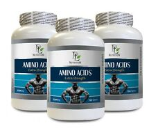 extreme muscle growth - AMINO ACIDS 2200MG 3B - l-lysine immune support