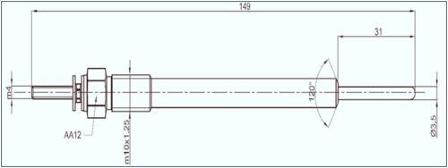 5x original vego CANDELETTE PER HYUNDAI h-1 KIA Sorento CRDI TCI TD 36710 4a000