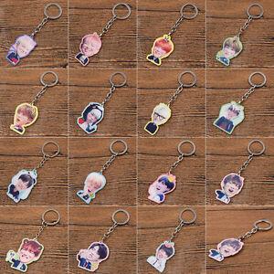 BTS-Kpop-BangTan-Boys-Acrylic-Single-Side-Keychain-Keyrings-Keyrings-J-Hope-New