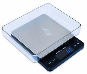 Image Is Loading Weighmax Digital 3000 X 0 1g Pocket Scale