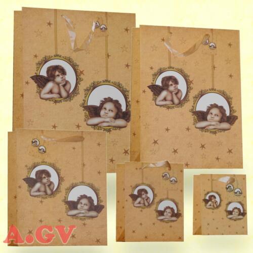 Weihnachtstüten Geschenktüten Papiertüten Tasche Beutel Tüte Weihnachten Engel 1