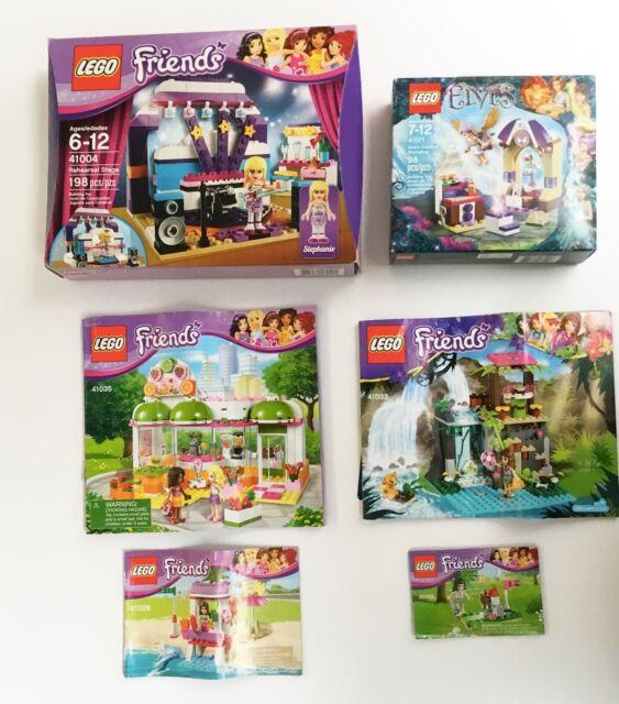 LEGO NEW Green Plate 4x6 Lot x4 Friends Disney Elves City Castle Base Parts 3032