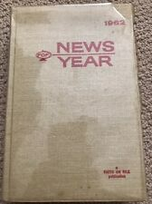 Facts on File Yearbook 1962 (Hardcover) by Facts on File, Inc; B6