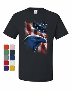 American-Bald-Eagle-T-Shirt-American-Flag-4th-of-July-Patriotic-Tee-Shirt