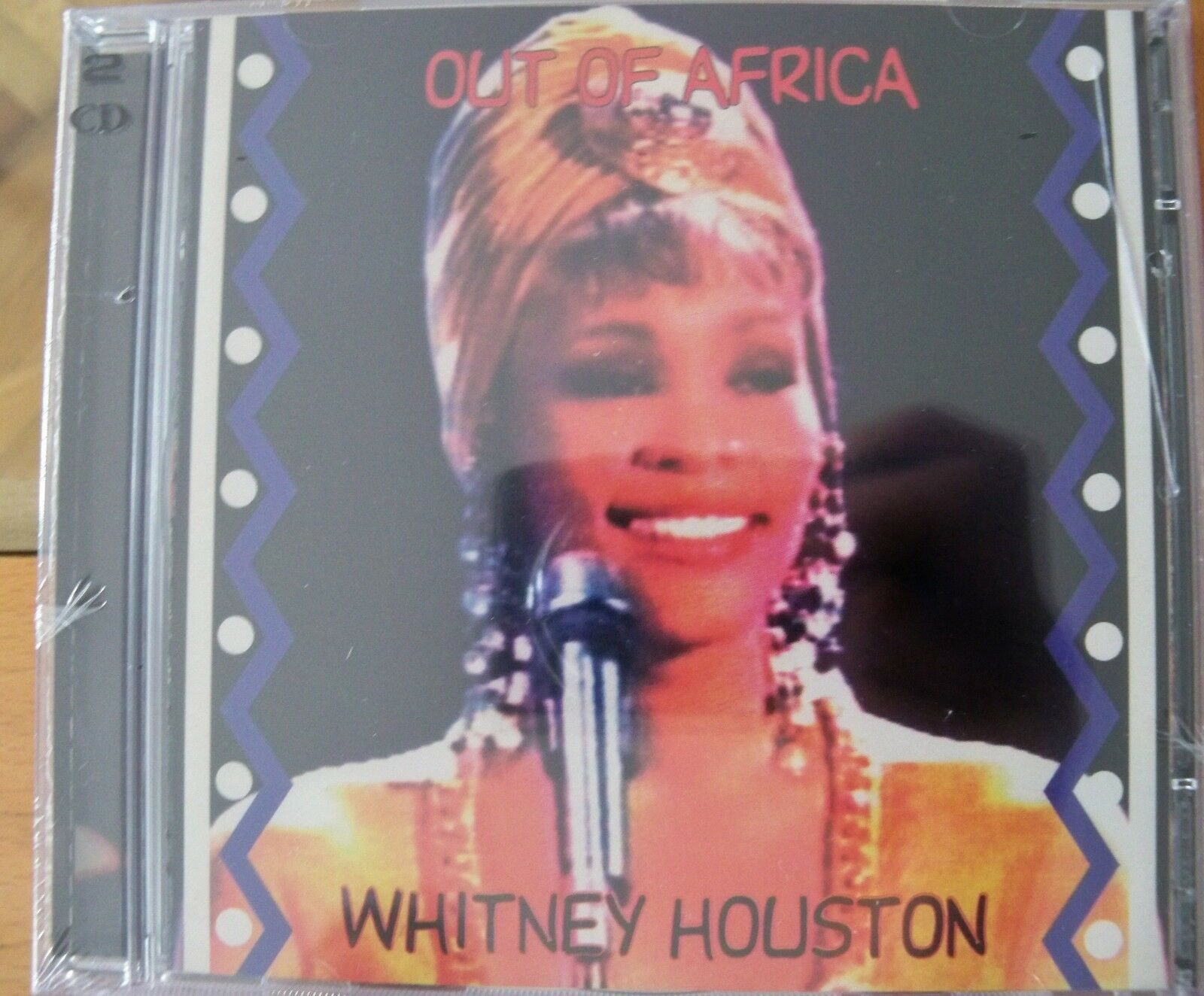WHITNEY HOUSTON  OUT OF AFRICA  DOUBLE CD LIVE JOHANNESBURG SOUTH AFRICA 1994