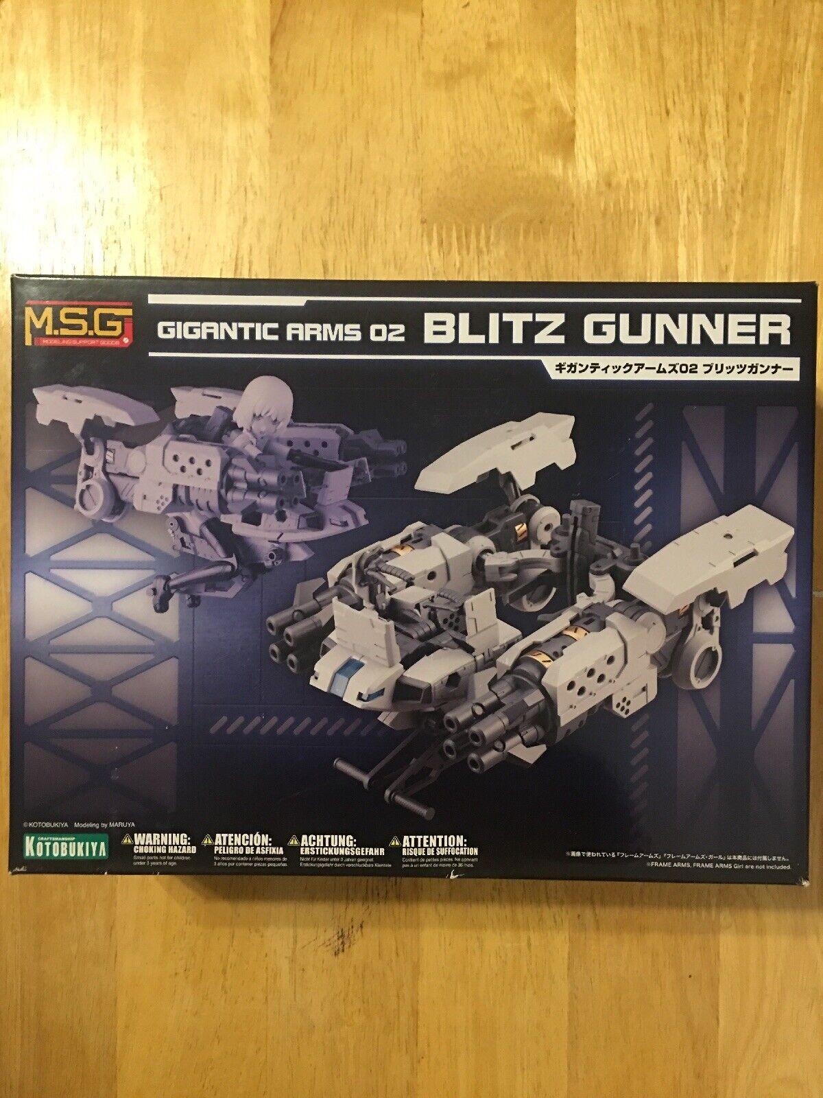 Kotobukiya MSG Frame Arms Gigantic 02   Blitz Gunner Plastic Model Kit  populaire