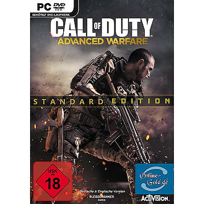 Call of Duty 11 Advanced Warfare Key - CoD 11 CDKey Steam Code [UNCUT][DE][PC]