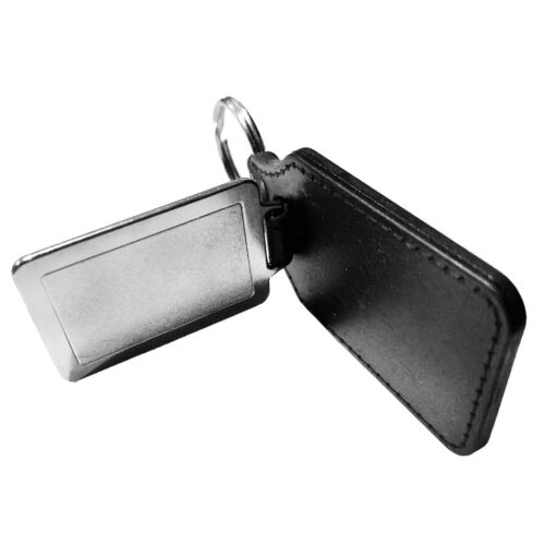 Florida Highway Patrol Retired Emblem Faux Leather Key Ring