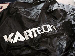 Go-Kart-Kart-Cover-Black-With-Silver-Logo-Waterproof-BRAND-NEW