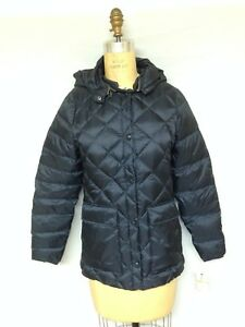 Navy Dame 15198 Puffer Tags Hooded With Packable New Woolrich XZcdWd