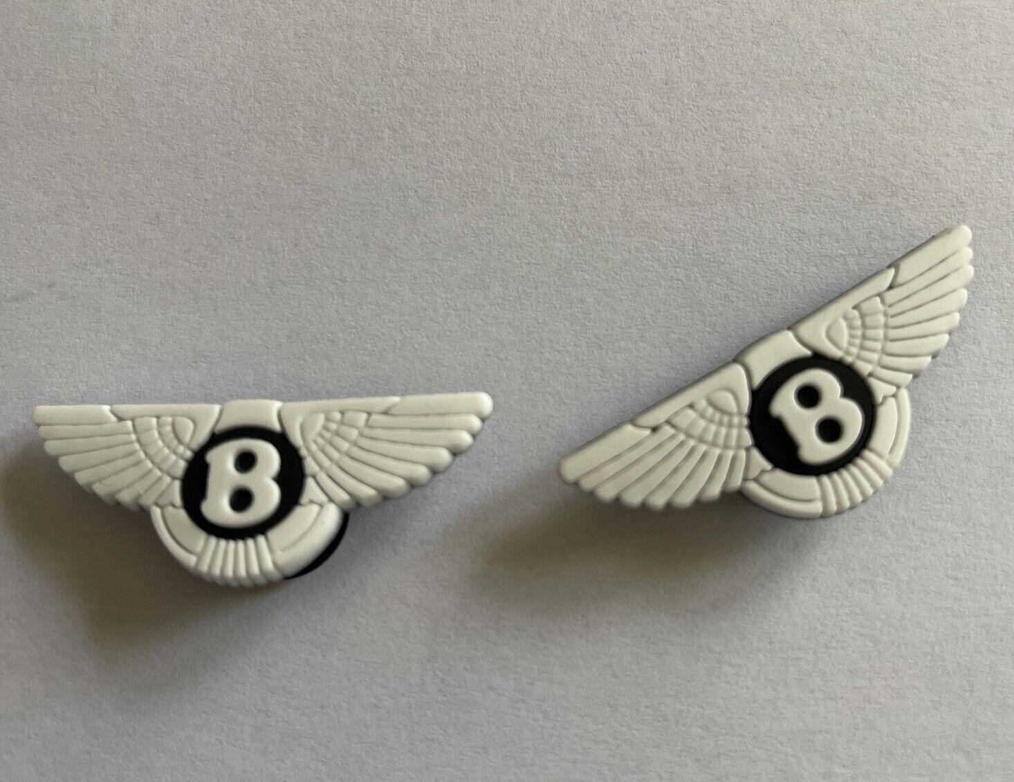 Bentley Logo Croc Charms (2) Shoe Charms For Croc Clogs Bracelet