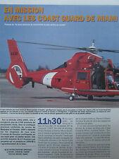 4/1993 ARTICLE 4 PAGES EN FRANCAIS USCG COAST GUARD MIAMI DAUPHIN FALCON RG-8A