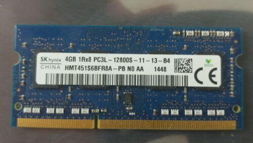 4GB Lap Top Memory 1x4GB SK Hynix HMT45156AFR8A-PB