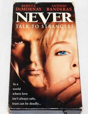 Never Talk to Strangers (VHS, 1996, Closed Captioned)