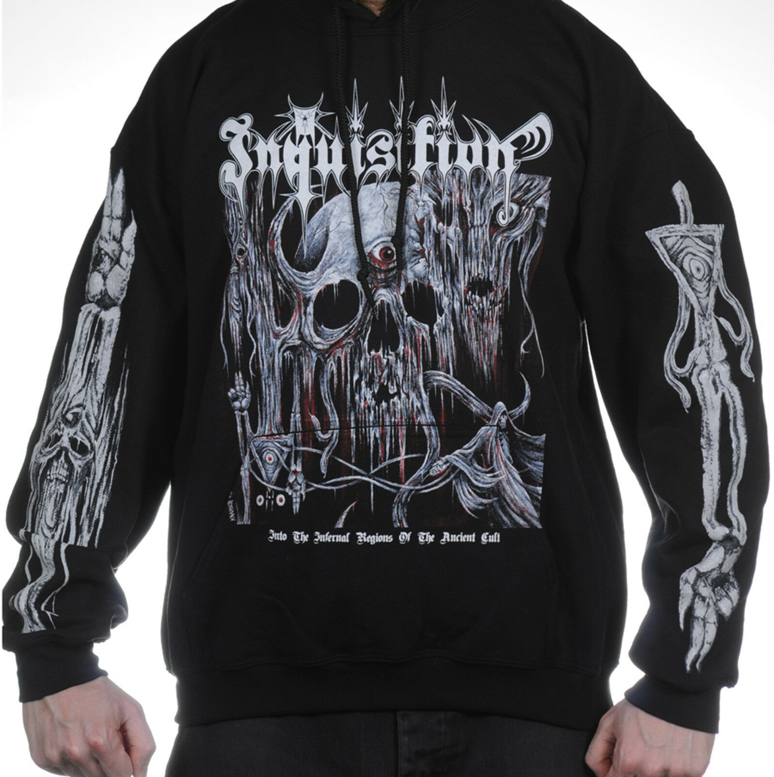 Inquisition Into The Infernal Regions Of The Ancient Cult Hoodie