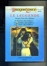 Weis-Hickman # LE LEGGENDE - Trilogia Completa #Dragon Lance Armenia 1992
