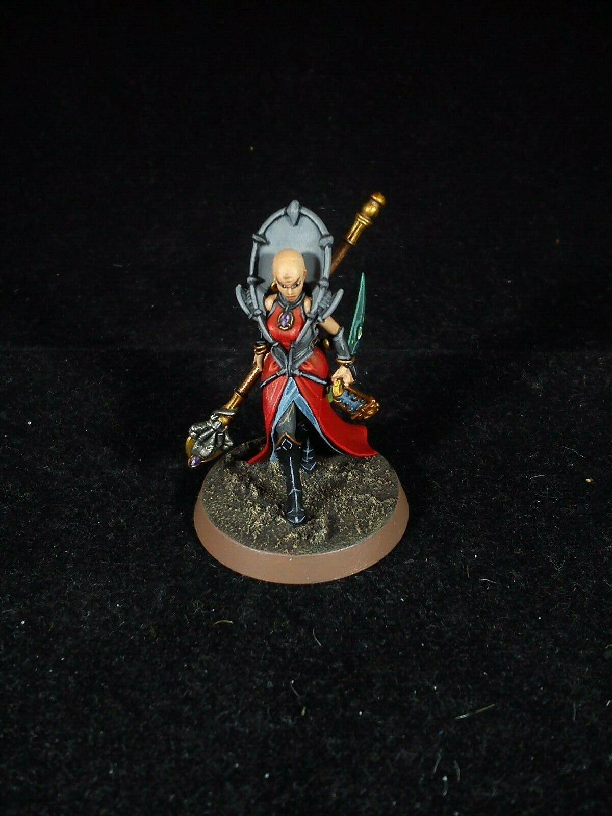 Magus Genestealer cults kill team warhammer 40k PAINTED
