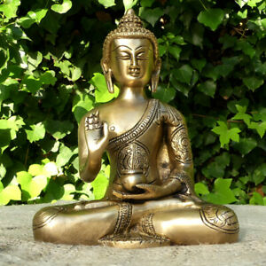 Figura De Buda Bronce Grande Ebay