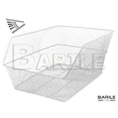 Basket Rear Rectangular White Attack Roof Rack Bike Various