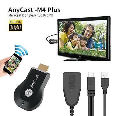 AnyCast 1080p M4 Plus WiFi HDMI  HD Media Player Streamer TV Cast Dongle Stick