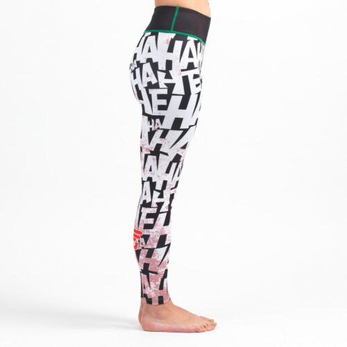 The Killing Joke Women/'s Leggings Spats compression yo Fusion Fight Gear Batman