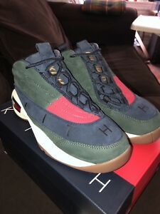 0dfae38f KITH X TOMMY HILFIGER LUX BASKETBALL SNEAKER - FOREST / NAVY SIZE 6 ...