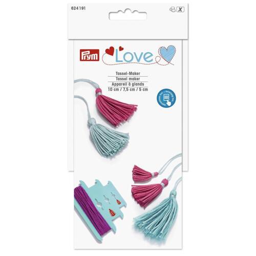 5cm Tassels 7.5cm Prym Love Tassel Maker Makes 10cm