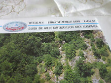 Alpenbahnen Westalpen K 43 Vrig Visp Zermatt Bahn Visp Herbriggen Kipfenschlucht