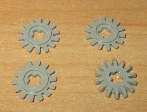 Lego Technik Baukästen & Konstruktion 4x Zahnräder m 14 Zähne alt hell grau light gray cogwheel 4143