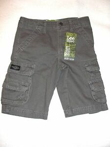 Lee Dungarees Cargo Boy Short Size 4 T Gray Color New Bottoms Boys' Clothing (newborn-5t)