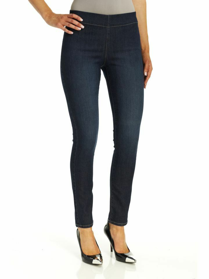 NEW NYDJ Not Your Daughters Jeans pant Poppy pull on leggings Hollywood dark 4