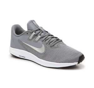 Details about Nike Downshifter 9 Mens Size 12 Running Shoes Cool Gray  Silver Walking Comfort