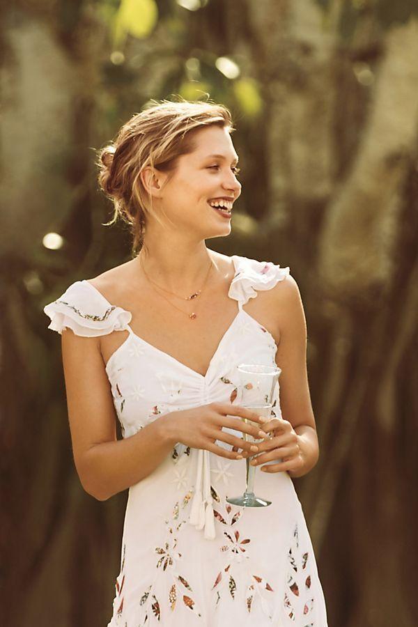 ANTHROPOLOGIE Farm Rio Quintana Maxi Dress size 6 new nwt