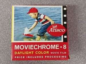 Ansco-GAF-Moviechrome-8mm-roll-Daylight-Color-Movie-Film-1966-Used
