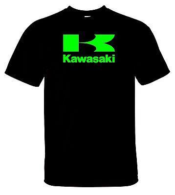 Big K Kawasaki Racing Tee Shirt Black New Without Tags  S-5XL Neon Green