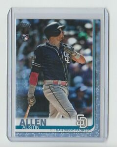 2019-TOPPS-UPDATE-AUSTIN-ALLEN-US103-BLUE-FATHER-039-S-DAY-11-50-PADRES-RC-SP