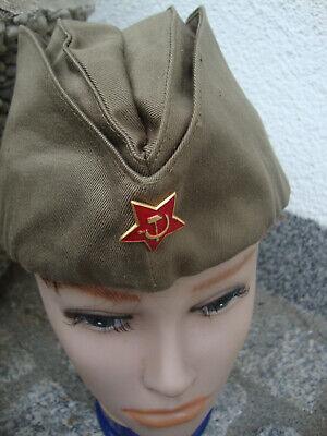 Udssr Sowjetunion Russland Rote Armee Ca Schiffchen Käppi Pilotka Gr. 54