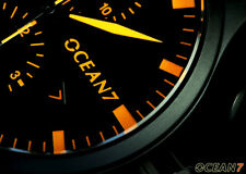 OCEAN7 Pilot Chrono Watch Automatic, Swiss 7750 ETA (Valjoux) Movement