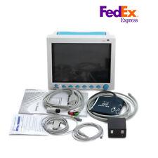 Icu Ccu Patient Monitor Multiparameter Vital Signs Medical Machine Cms8000 Fedex