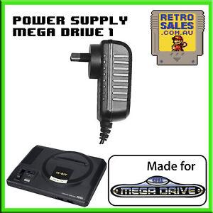 Sega-MegaDrive-1-Power-Supply-Adapter-Pack-New-Aus-MK1602-PSU-Mega-Drive-Genesis