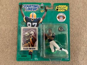 2000 ISAAC BRUCE ☆EXTENDED SERIES☆ ST. LOUIS LOS ANGELES LA RAMS STARTING LINEUP