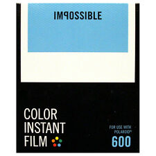 Polaroid 600 Type Instant Film / Impossible 600 film - NEW VERSION
