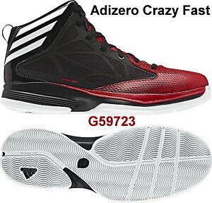 uk availability af4df fd87a Adidas Crazy Fast Hommes Basket g59723 Fb. NoirRouge